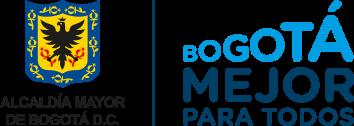 Logo de alcaldía de Bogotá