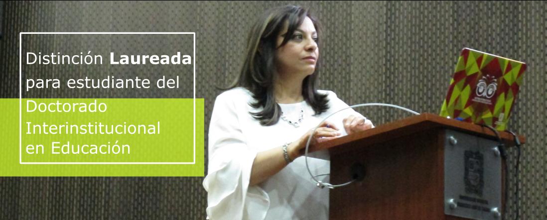 Banner por la Distinción laureada para Andrea Aristizábal