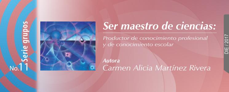 Banner de la publicación Ser maestro de ciencias