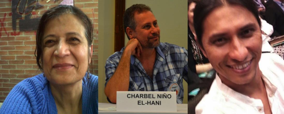 Fotos de Adela Molina, Charbel Niño, Diego Valderrama, Por Tesis premiada