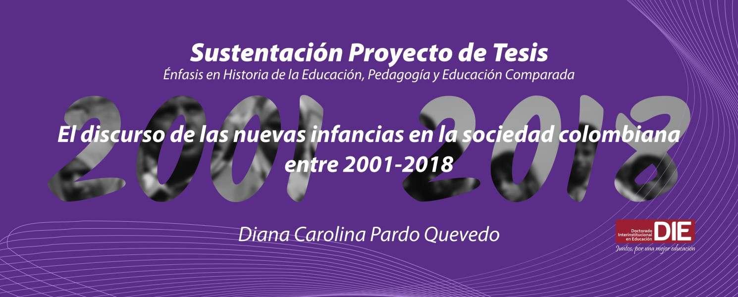 Imagen con texto de invitación a sustentación de proyecto de tesis doctoral