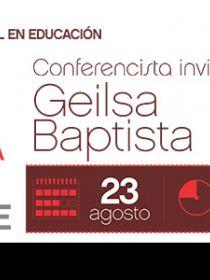 Banner de la conferencia Relación entre la etnobiología y la educación científica intercultural. Posibilidades, límites y retos para las escuelas en América Latina