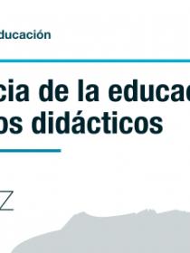 Banner de la conferencia La presencia de la educación ambiental en los libros didácticos