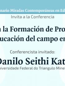 Banner de la conferencia Interculturalidad en la Formación de Profesores de Ciencias