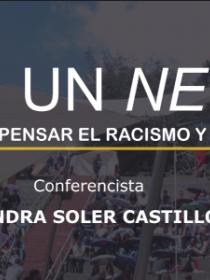 Banner de la conferencia de Sandra Soler