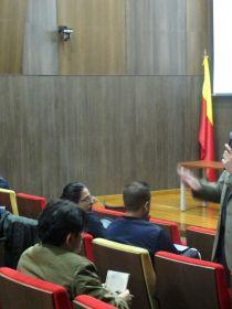 Foto de la Conferencia del Vicenç Font Moll