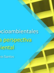 Banner para la conferencia Desafíos y utopías socioambientales
