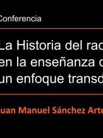 Banner de la conferencia de Juan Manuel Sánchez DIE-UD
