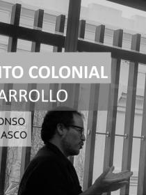 Banner de la conferencia Reconocimiento colonial, racismo y desarrollo