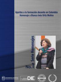 Portada del libro homenaje a Blanca Inés Ortiz Molina
