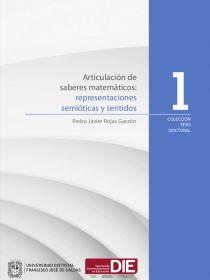 Portada del Articulación de saberes matemáticos: Representaciones semióticas