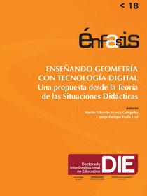 Portada del libro Enseñando geometría con tecnología digital