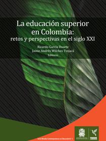 Portada del libro La educación superior en Colombia