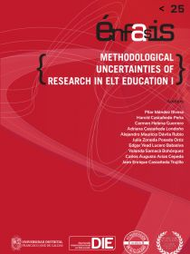 Portada del libro Methodological uncertainties of research in ELT education I