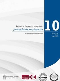 Portada del libro Prácticas literarias juveniles: jóvenes, formación y literatura