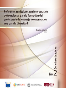 Portada del libro: Referentes curriculares con incorporación de tecnologías CALE