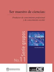 Portada del libro Ser maestro de ciencias
