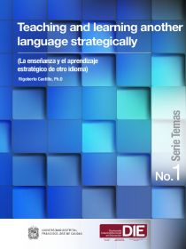 Portada de publicación DIE titulada Teaching and learning another language strat