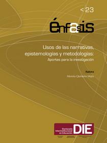 Portada del libro Usos de las narrativas, epistemologías y metodologías