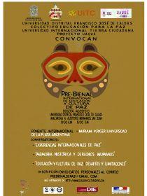 Afiche de la Pre-Bienal