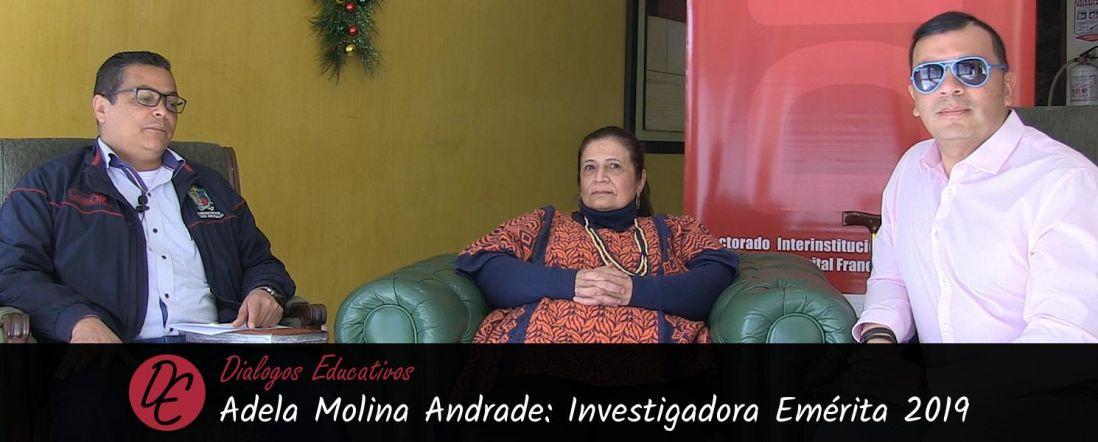 Banner de la entrevista a Adela Molina Andrade