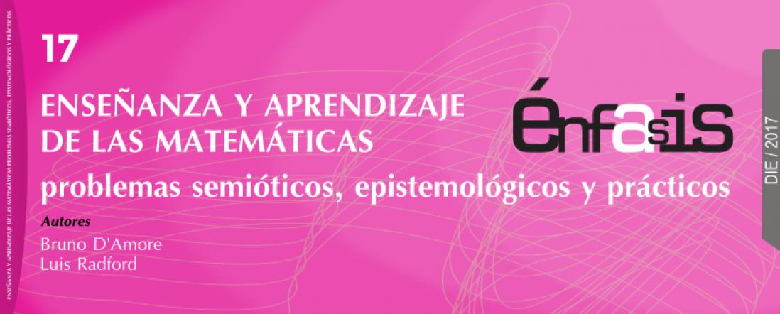 Banner del libro Enseñanza y aprendizaje de las matemáticas