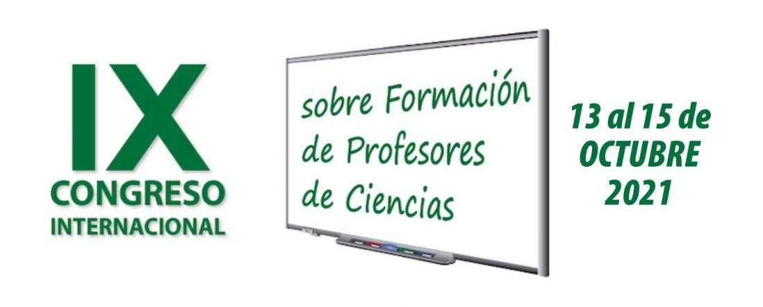 Banner para el IX Congreso Internacional de profesores de ciencias