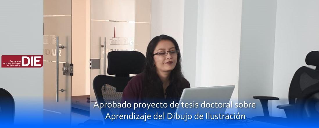 Banner por la aprobación del proyecto de Sherly González