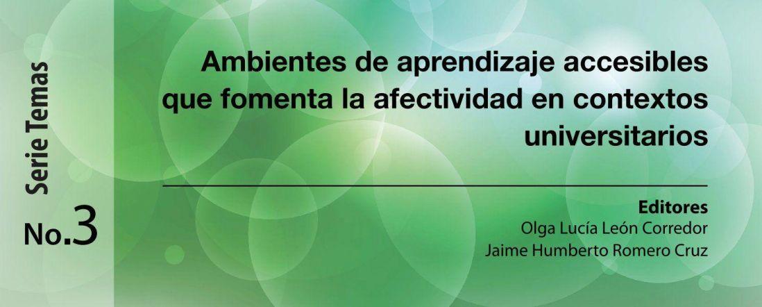 Banner del libro Ambientes de aprendizaje accesibles