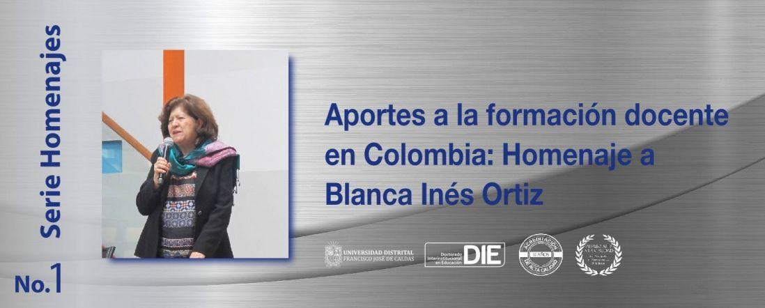 Banner del libro homenaje a Blanca Inés Ortiz Molina