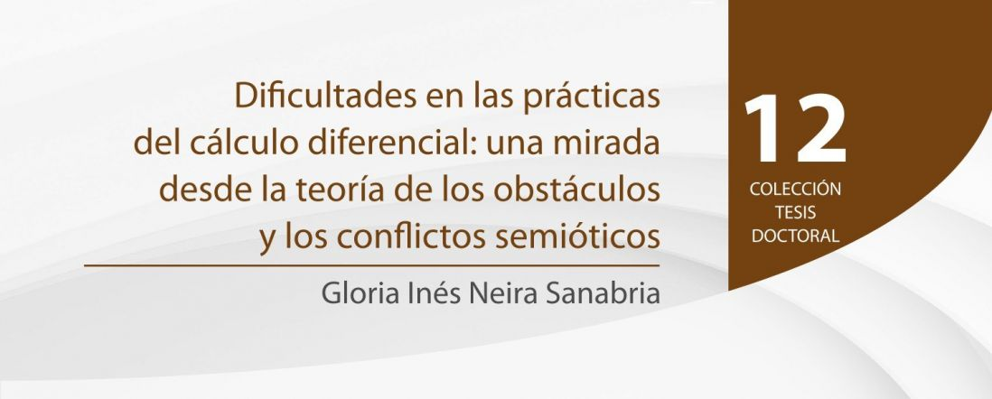 Bnner del libro Dificultades en las prácticas del cálculo diferencial