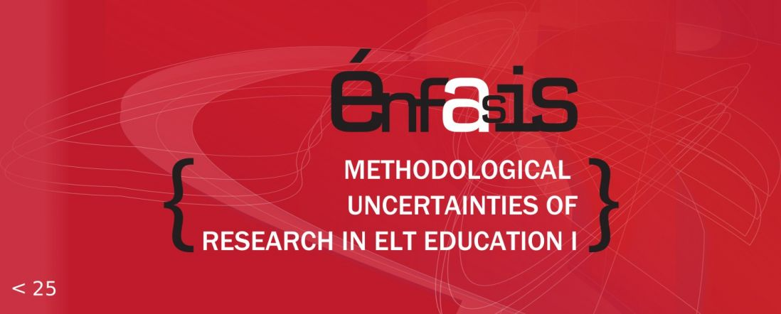 Banner del libro Methodological uncertainties of research in ELT education I