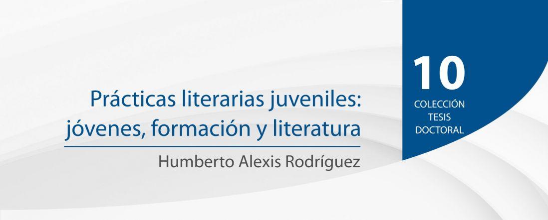Banner del libro Prácticas literarias juveniles: jóvenes, formación y literatura