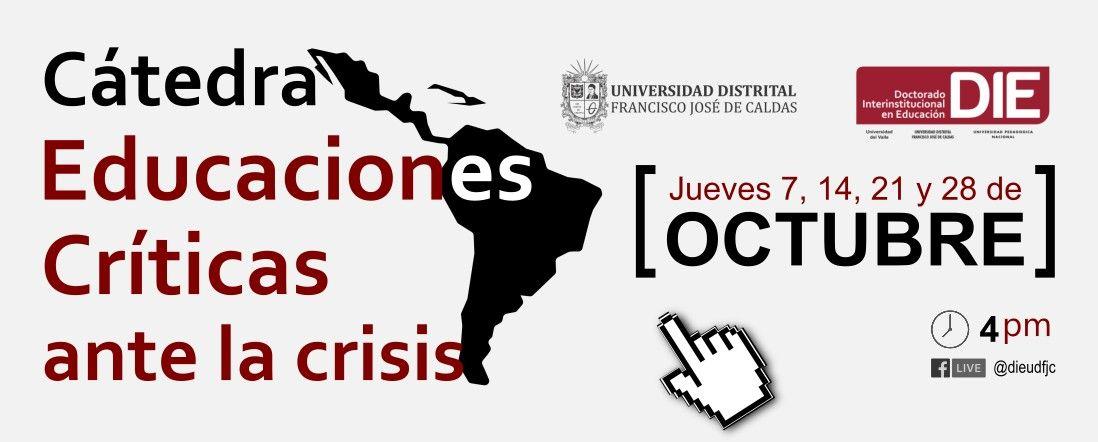 Cátedra Educaciones Críticas ante la crisis