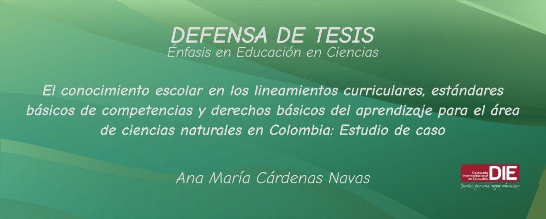 Fondo abstracto con título de la tesis de Ana María Cárdenas
