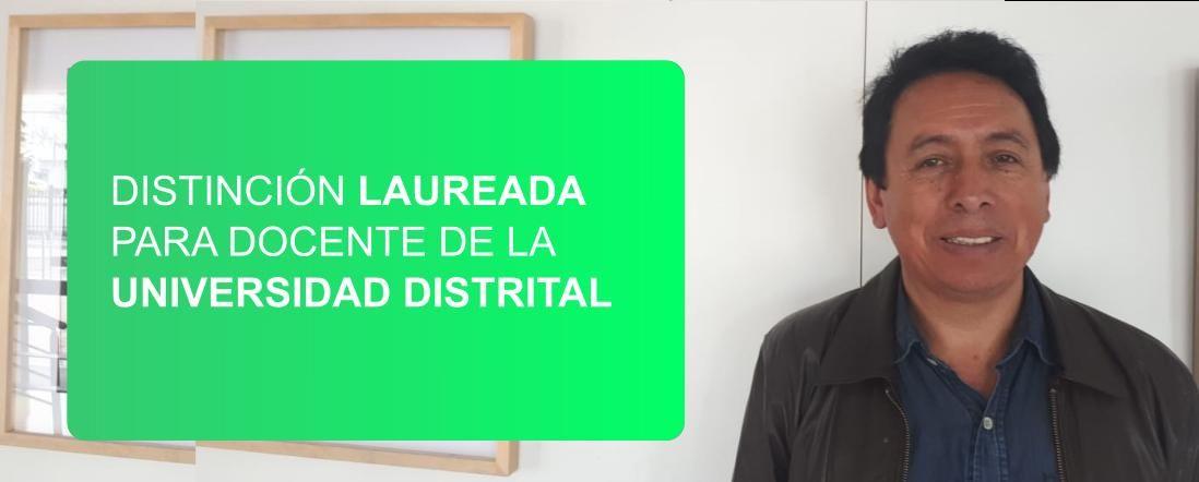 Banner por la distinción laureada a tesis de Fernando Guerrero