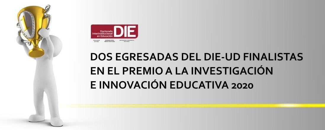 Banner por las egresadas finalistas en Innovación Educativa 2020