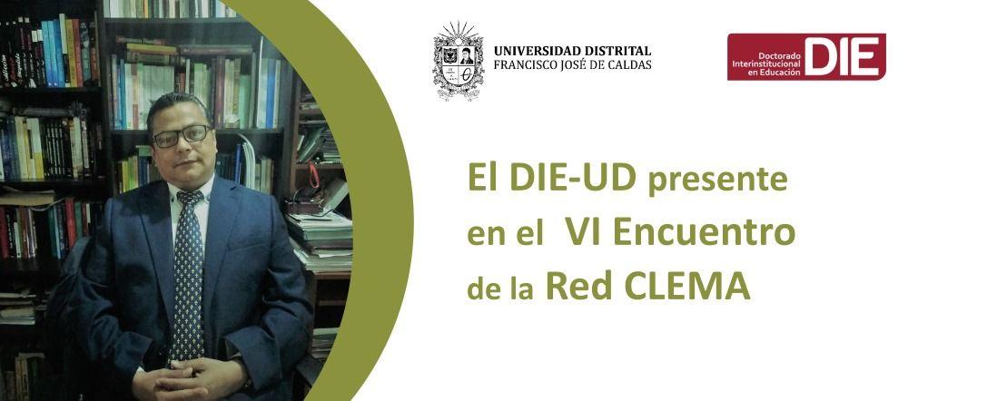 Banner por participación de Rodolfo Vergel en VI encuentro CLEMA