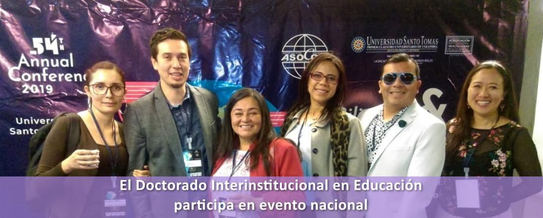 Participación de estudiantes y profesores del DIE en Congreso de ASOCOPI