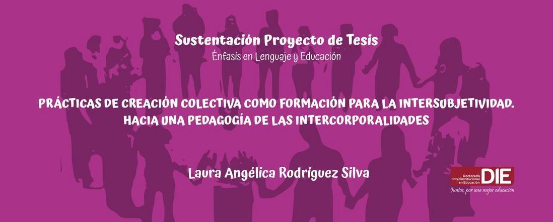 Banner de la Sustentación del Proyecto de Laura Rodríguez Silva