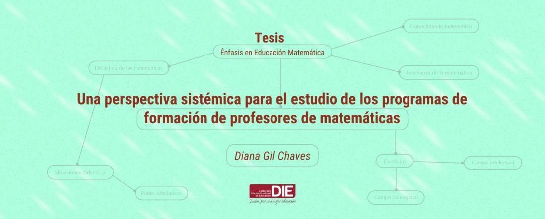 Banner por la Sustentación de la Tesis de Diana Gil Chaves
