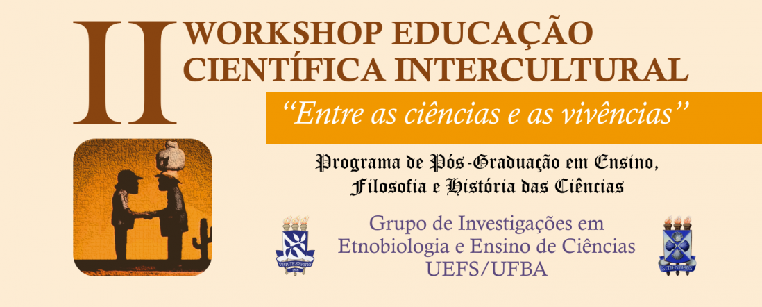 Banner para el II Workshop Educacao Cientifica Intercultural