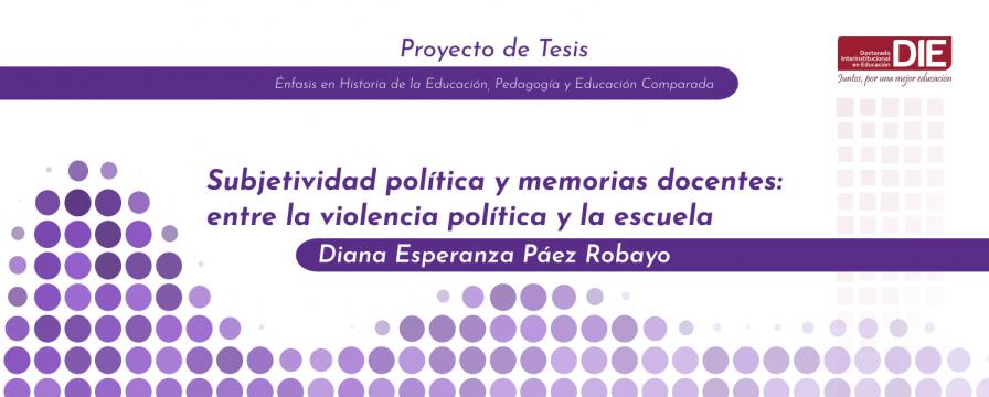 Banner por la Sustentación del Proyecto de Diana Páez Robayo