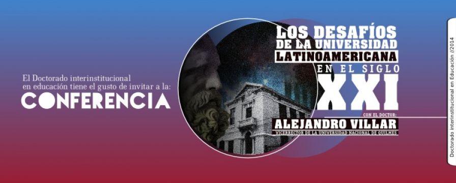 banner de Los Desafíos de la Universidad Latinoamericana en el Siglo XXI