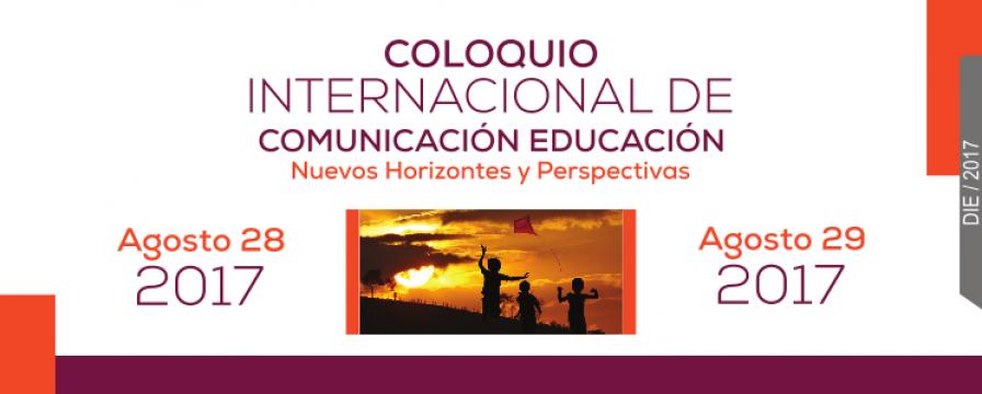 Banner del Coloquio Internacional en Comunicación Educación