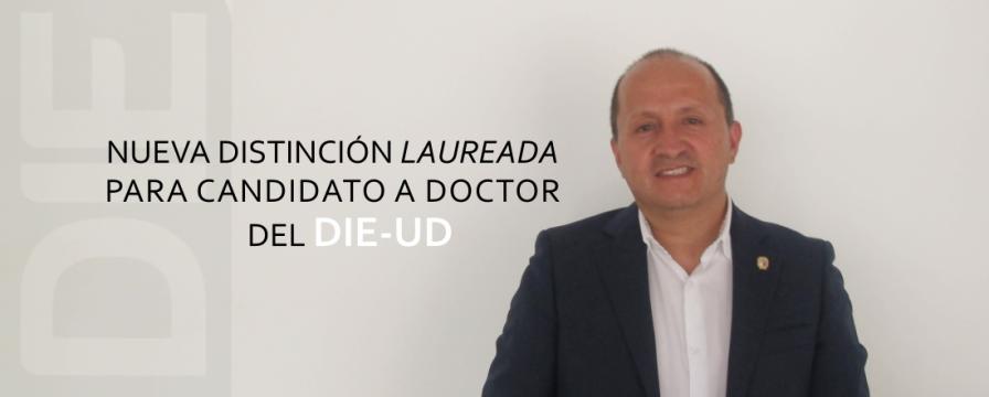 Banner por la Distinción Laureada para Giovanny Castañeda
