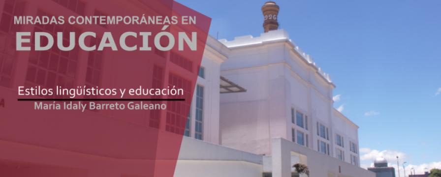 Banner de la conferencia de Idaly Barreto Galeano