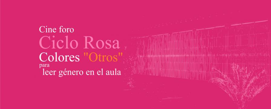 Banner por el cierre del Ciclo rosa y otros colores