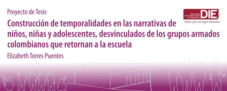 Banner de la sustentación del Proyecto de Tesis de Elizabeth Torres