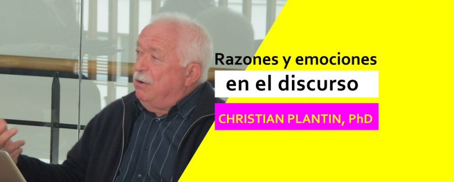 Banner por la conferencia de Christian Plantin 2018